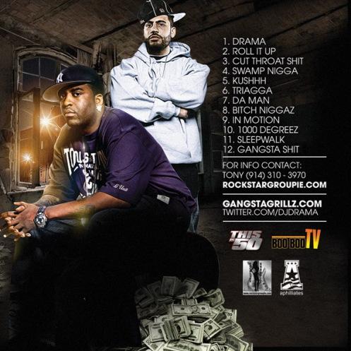 Tony Yayo DJ Drama Back Cover